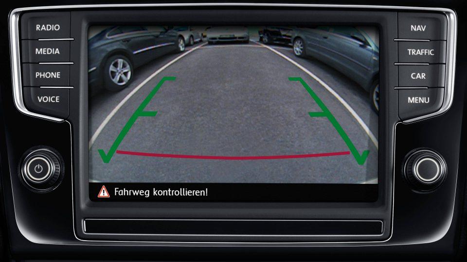Jetta - Câmera de Ré - Volkswagen Fiorenza