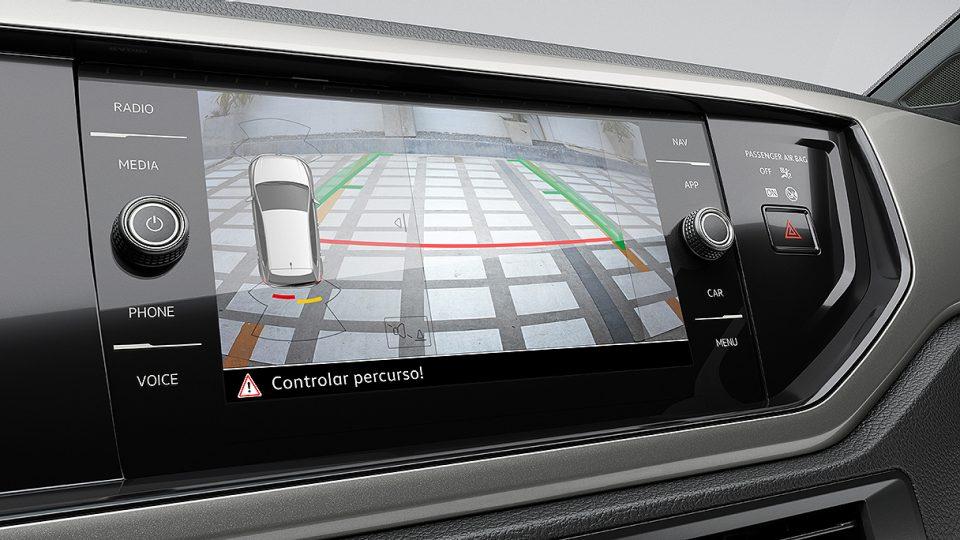 Novo Polo - Camera de Ré - Volkswagen Fiorenza