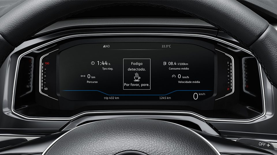 Novo Polo - Detector de Fadiga - Volkswagen Fiorenza