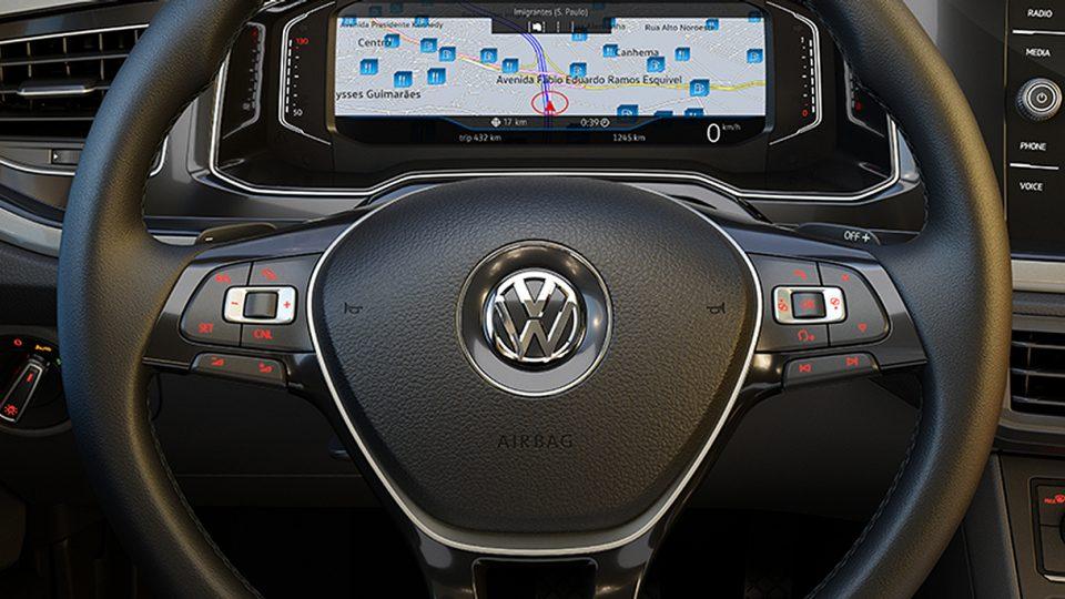 Novo Polo - Volante Multifuncional - Volkswagen Fiorenza