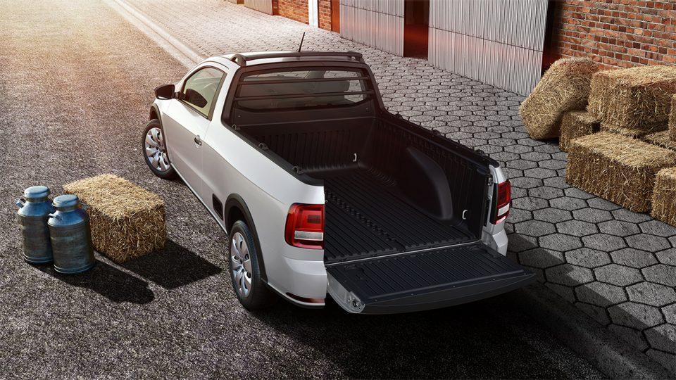 Saveiro - Capacidade de carga - Volkswagen Fiorenza