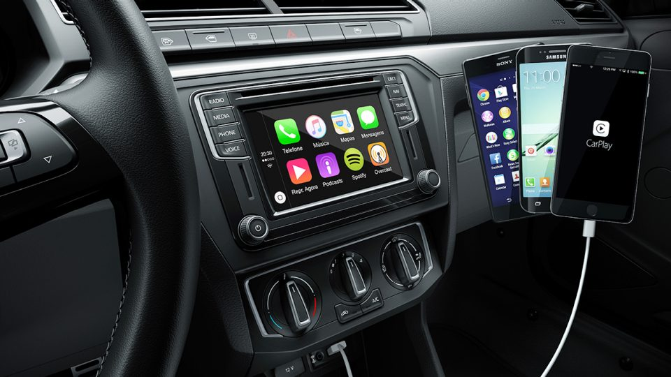 Saveiro - Sistema infotainment - Volkswagen Fiorenza