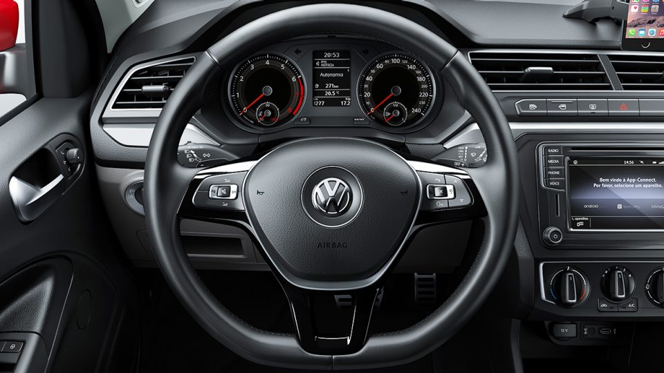 Saveiro - Volante multifuncional - Volkswagen Fiorenza