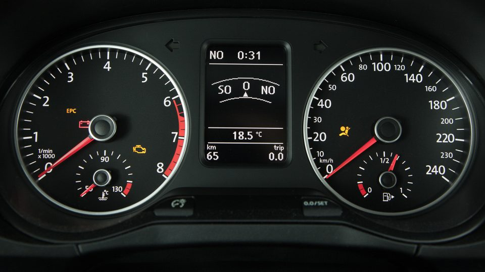 Space Fox - Computador de bordo - Volkswagen Fiorenza